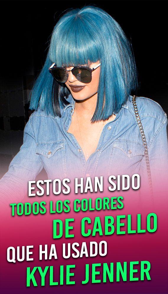 Estos han sido todos los colores de pelo que ha usado Kylie Jenner