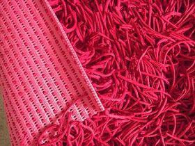 Monte Você Mesmo: Pap do tapete vermelho de fio de malha, trapilho, espaguetti ou tirela...