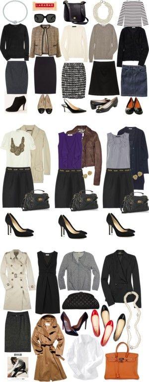 """""""Wardrobe Basics"""" by rebelynne on Polyvore"""