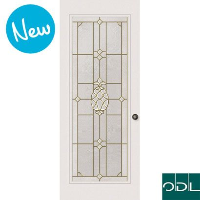 Known around the world as a symbol of hospitality the form takes on elegance in a cut bevel cluster framed in antique brass caming. Piña\u0027s Classic door ...  sc 1 st  Pinterest & 10 best bevel door images on Pinterest   Stained glass panels ...