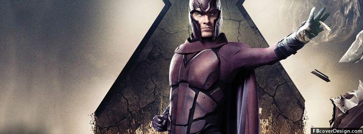 Magneto x men Facebook Covers Design | FBcoverdesign.com