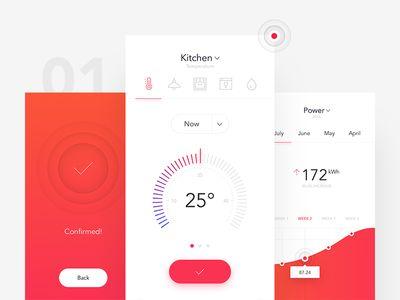 SmartHome App by Michal Parulski for netguru in SmartHome App