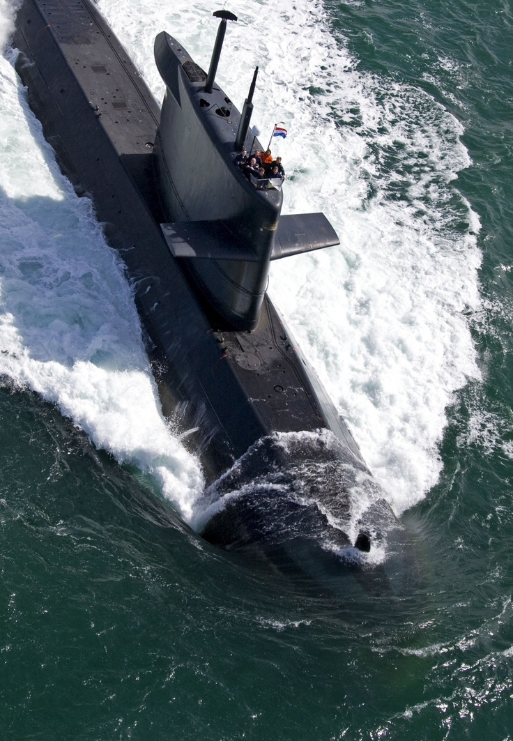 Royal Netherlands Navy Walrus class attack submarine