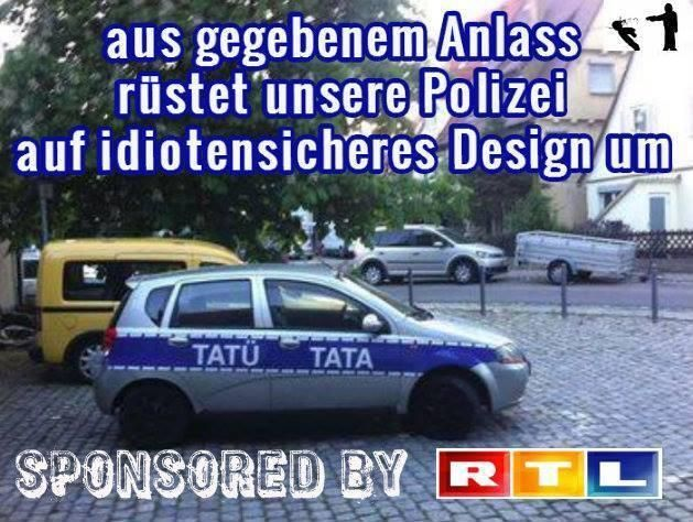 Polizei tatütata
