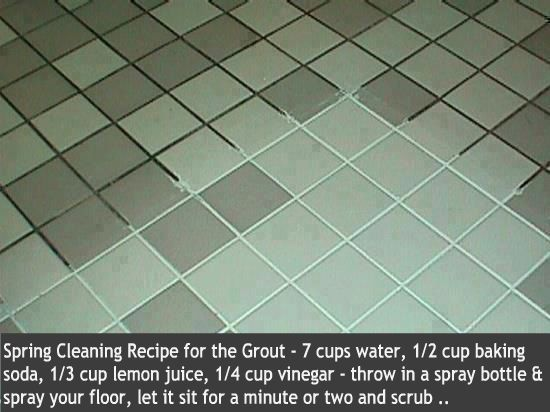 grout great idea!