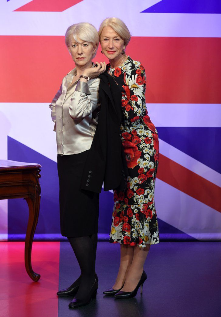 No, You're Not Still Drunk From Last Night, Helen Mirren Really Does Have 3 Wax Figures