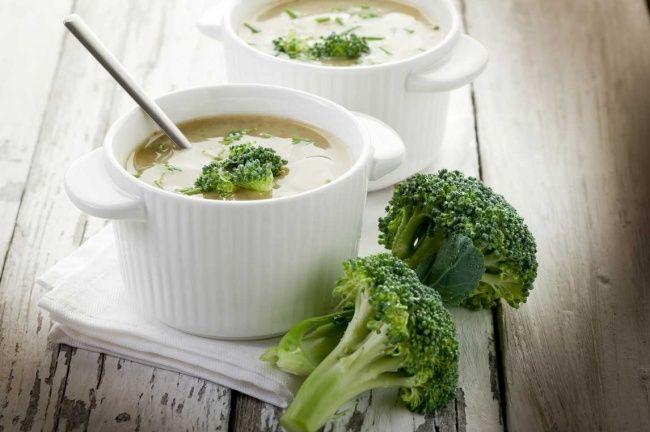 7 питательных блюд без мяса | Суп из брокколи с рисом