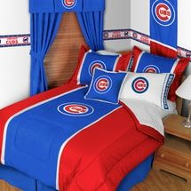 Find A Great Selection Of Chicago Cubs MVP Kids MLB Baseball Bedding Including Sheets Comforters Pillow Shams Bed Ruffles Drapes And Valances At Laurens