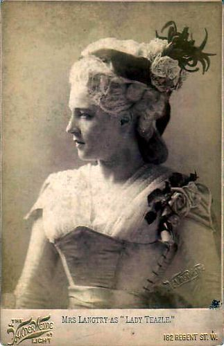 Lillie Langtree   British actress and the fascination of Judge Roy Bean