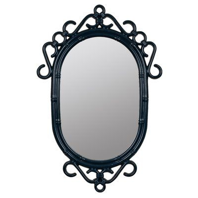 World Menagerie Oval Blue Wall Mirror