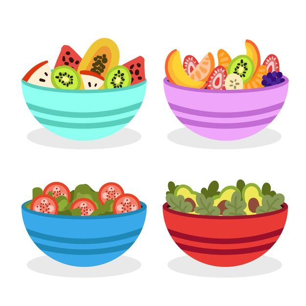 Download Colourful Bowl Filled With Fruit Salad For Free Colorful Bowls Fruit Salad Free Fruit