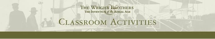 Lesson Plan Ideas Awesome lesson ideas and interactive activities to teach students about Orville and Wilbur Wright for the anniversary of their first flight on Dec. 17th.