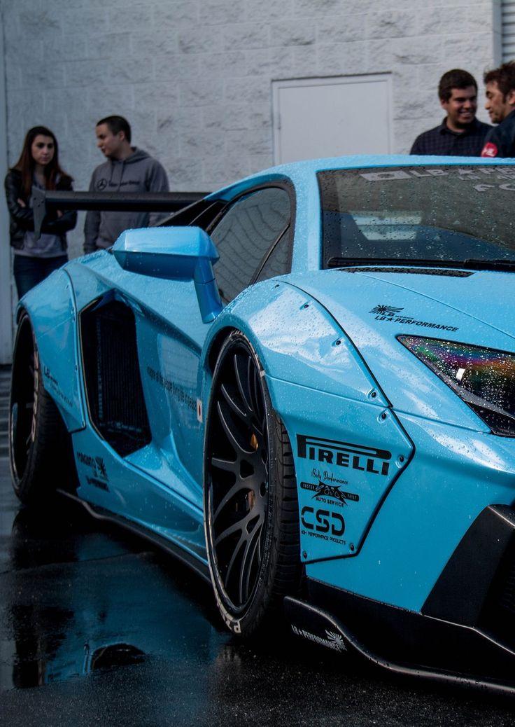 Visit The MACHINE Shop Café... ❤ The Best of Lamborghini... ❤ (Custom LB★Works Aventado)