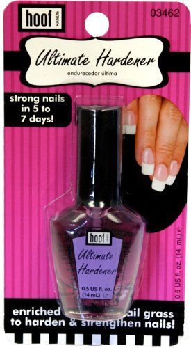 Hoof Ultimate Hardener Nail Strengthening  Growth Nail Polish with Horsetail Grass Extract 05 fl oz  Nail Strengthener  Nail Growth Treatment Works Fast On Nails That Break Crack Chip Split  Have No Flexibility ** Learn more by visiting the image link.