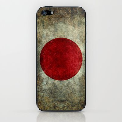 The national flag of Japan iPhone & iPod Skin by LonestarDesigns2020 - Flags Designs + - $15.00