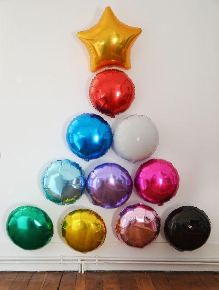 Árbol de Navidad de globos! / Ballon Christmas Tree!