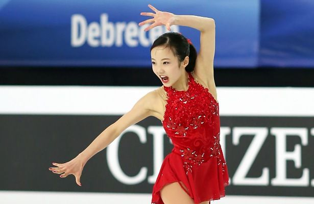 Marin Honda of Japan ended Russia's gold streak in the Ladies event at the 2016 ISU World Junior Championships in Debrecen, Hungary.