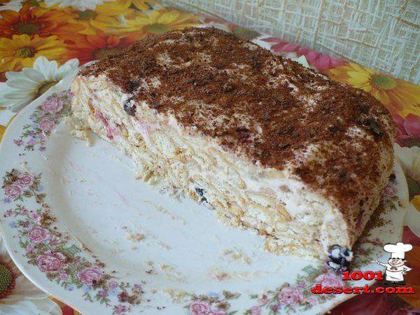 Торты без выпечки простые рецепты с фото