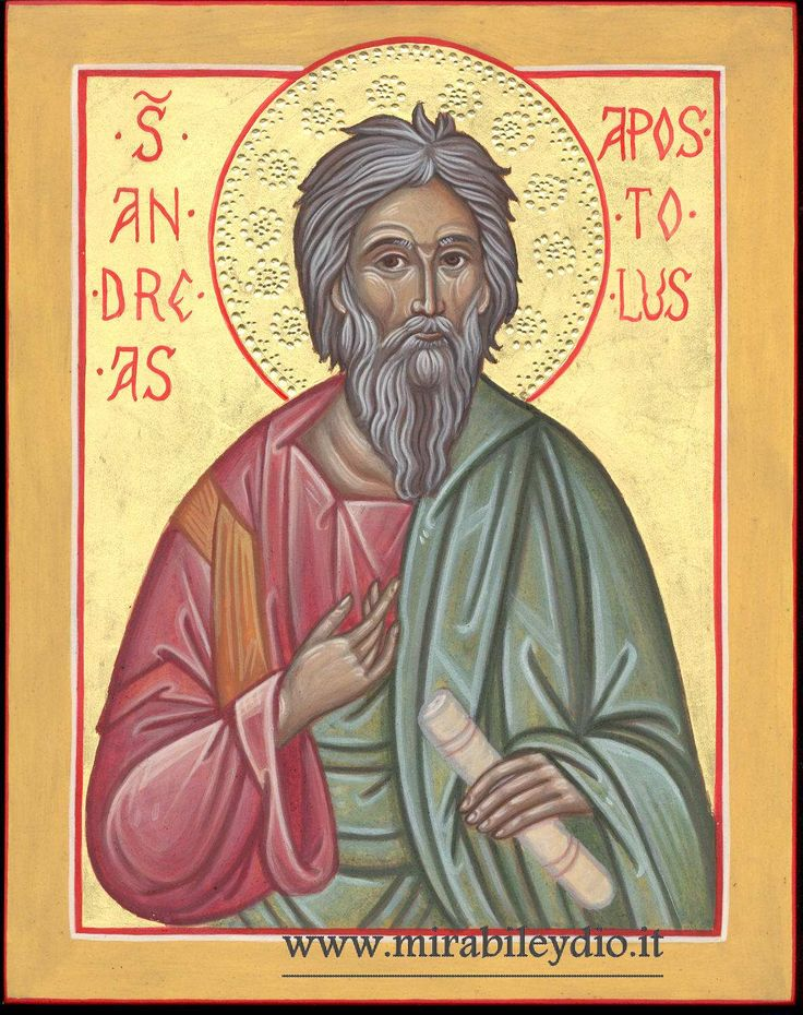 Sant'Andrea apostolo -per mano di Cristina Capella-www.mirabileydio.it