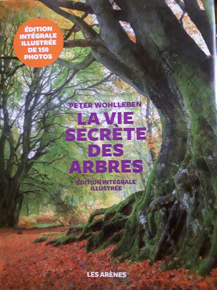 """Couverture du livre """"la vie secrète des arbres """" …"""