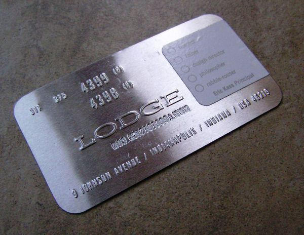 30 best business card ideas images on pinterest visit cards metal business cards stand out get noticed and do not get thrown away here are 20 metal business cards examples that will surely inspire you colourmoves