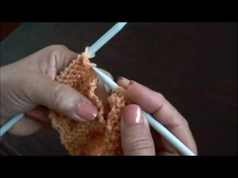 Dos agujas: zapatitos básicos para bebés (Parte1)