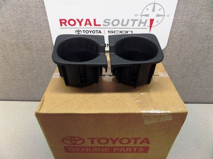 Toyota Tacoma Front Console Cup Holder Inserts Genuine OEM OE