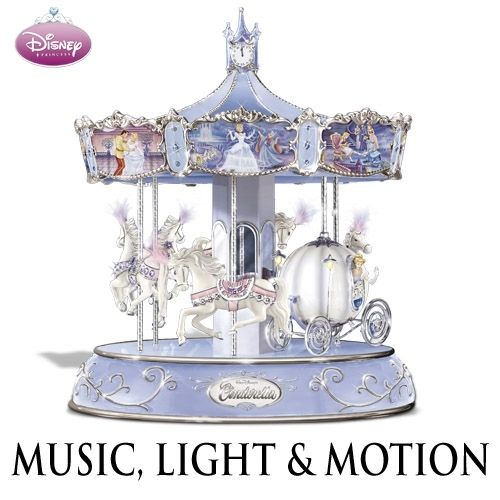 Disney Cinderella'S Enchanted Journey Musical Bradford Exchange Carousel | eBay