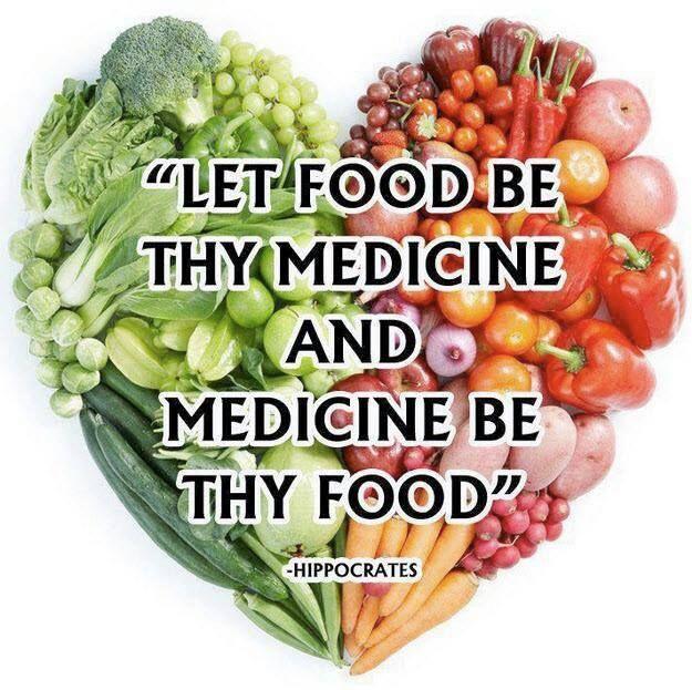 Let food be thy medicine #balance #ayurveda