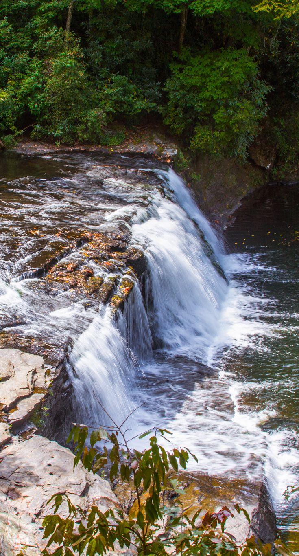 Hooker Falls Dupont State Forest via @brmountainlife