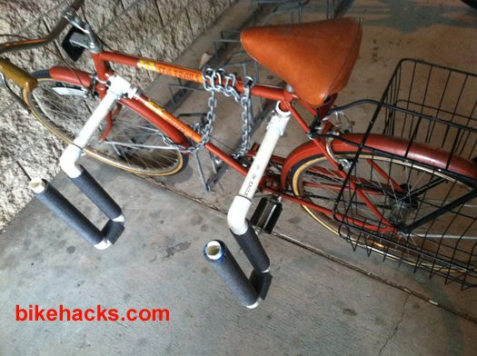 Surfboard Carrier For Bike Could Be Used To Haul A Few
