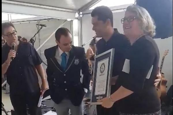 Australian dairy sets Guinness record for largest cheese tasting