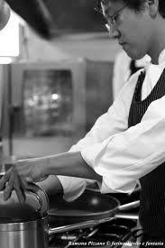 Masayuki Kondo Chef - Locanda del pilone One Star Michelin. Alba, Piedmont
