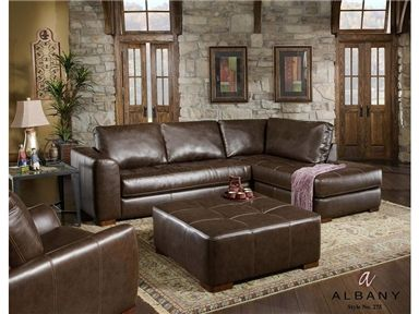 Shop For Albany Industries 2 Piece Sectional A2552p And