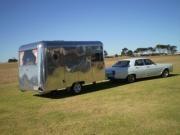 1960 Carapark Australian vintage caravan. Vintage Caravan Grand Parade -