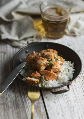 J'hésitais à partager cette recette de poulet tandoori parce que j'aime bien dire que c'est sa version « Dollarama ». En d'autres mots, c'est vraiment basic, mais ça fonctionne.
