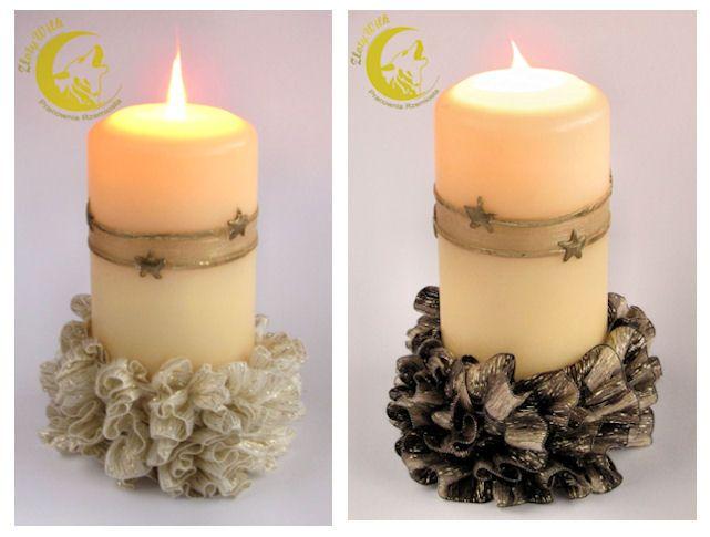 Karnawałowo na stole | Złoty Wilk, decorations made of tape yarn