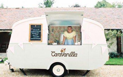 27+ Ideen Vintage Food Truck Design Eiswagen   – Eves ice cream truck