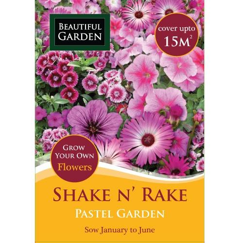 Shake and Rake - Pastel Garden | Poundland
