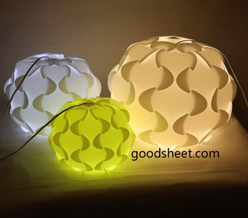 Iq Jigsaw Light Embly Lamp Pp Lampshade