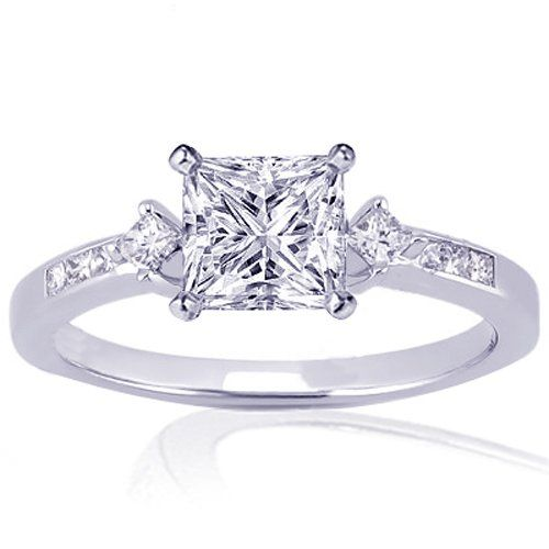 Best 25 Princess cut wedding rings ideas on Pinterest Princess