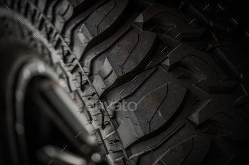 Off Road Tire Closeup