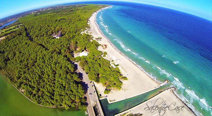 La spiaggia e i laghi degli Alimini - Otranto #beach #renthouse #vacation #salentoecase #puglia