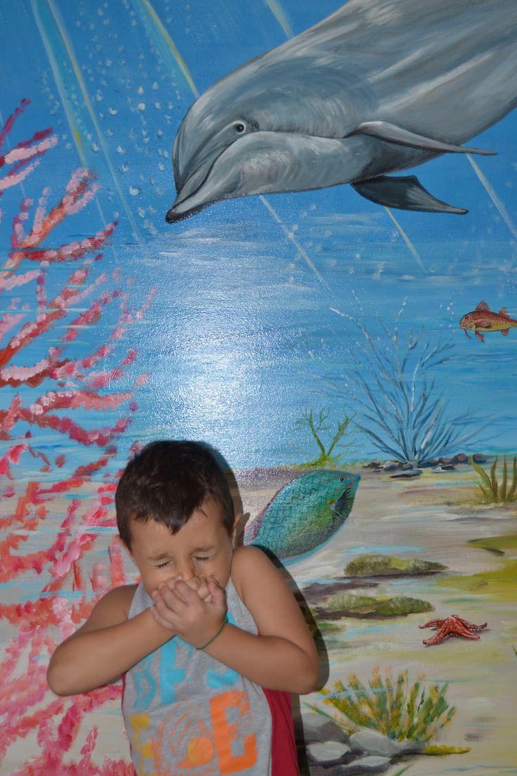 murales fondo marino 2014 autore Natalia Albanese