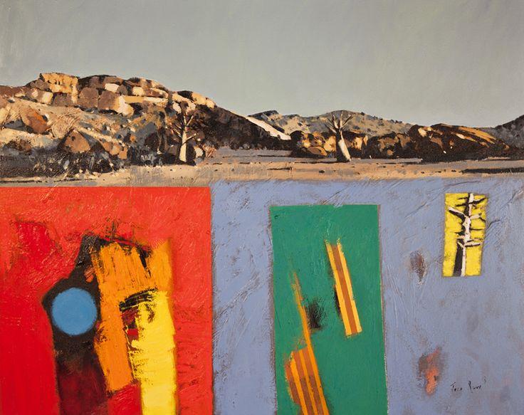 Leokwe Mapungubwe, oil on canvas, 100 x100cm