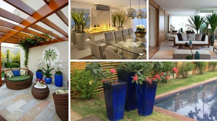 Os vasos são uma parte importante na decoração de uma casa. Eles ajudam a compor a decoração e dar algum estilo à sua casa. Existem imenso modelos de difer