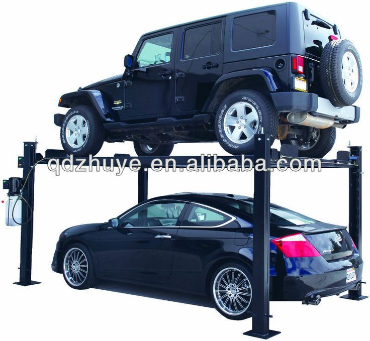 used 4 post car lift for sale;auto workshop equipment $1250~$1700