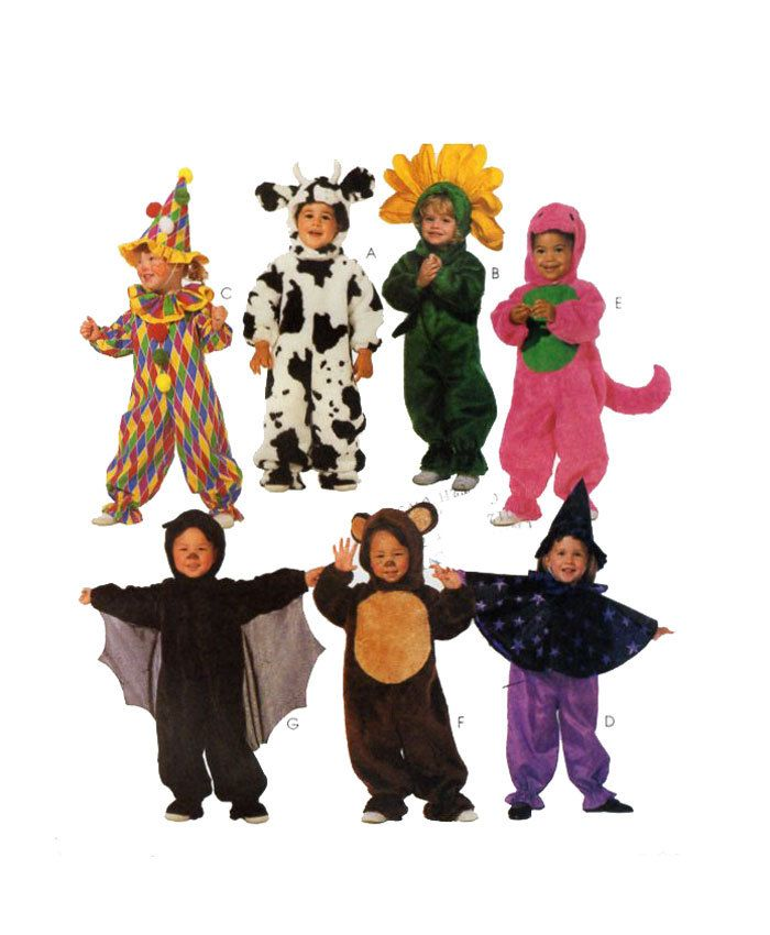 Toddler Baby Halloween Costume Mccalls Jersey Cow