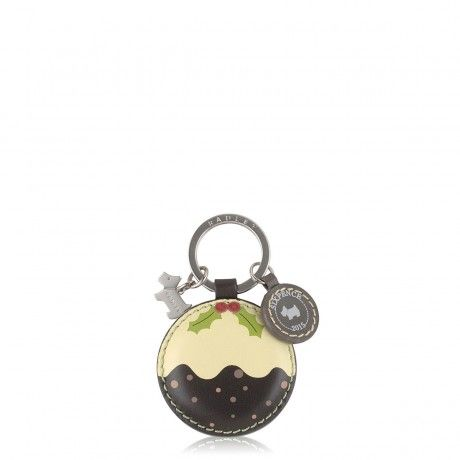 This Christmas pudding key ring is the cutest!