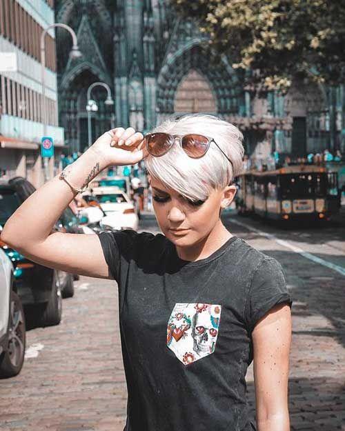 Sweet Pixie Cuts für stylische Girls   – Frisur